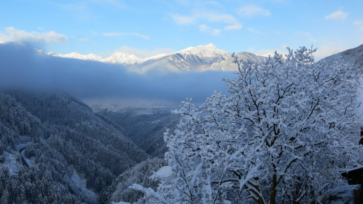 Raffreiderhof Ausblick Winter